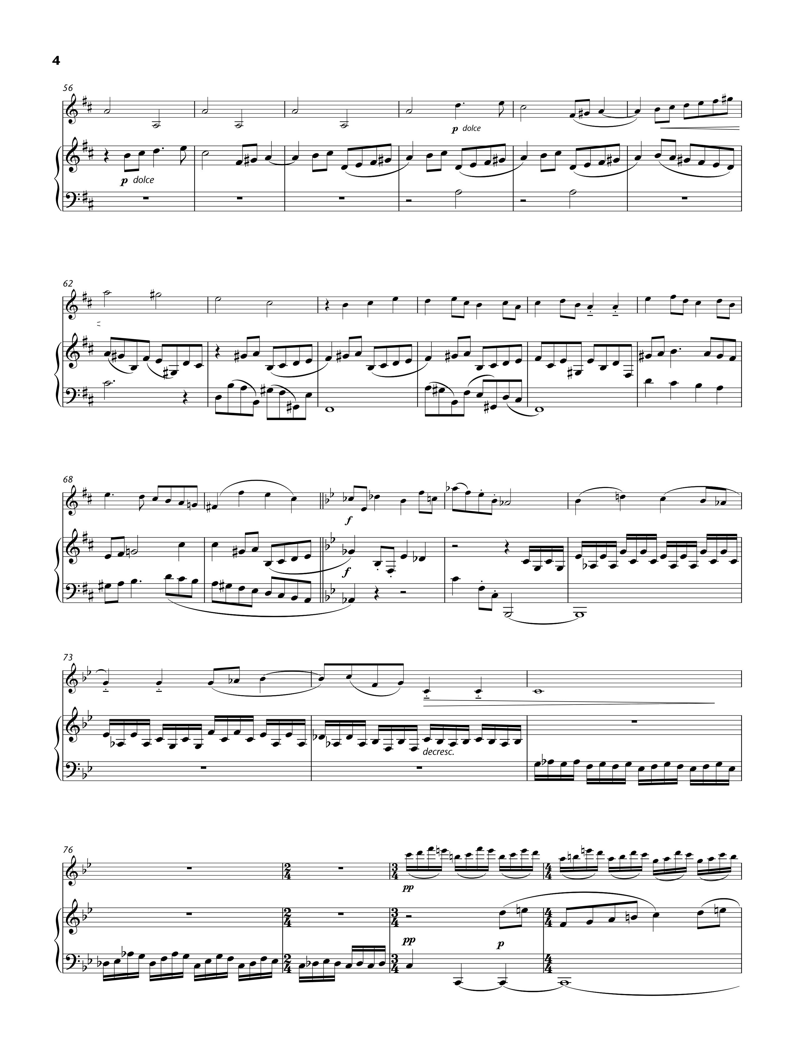 Violin Sonata, p. 3