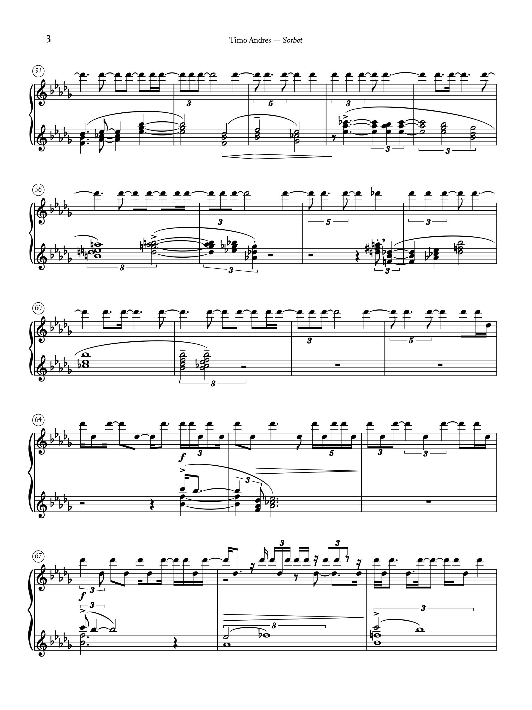 Sorbet, p. 3